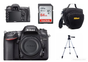 Câmero Nikon D7200 (somente Corpo)+bolsa+64gb+tripé