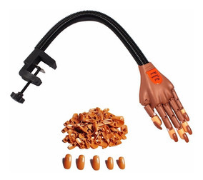 Mão De Treino Para Manicure E Unha Em Gel