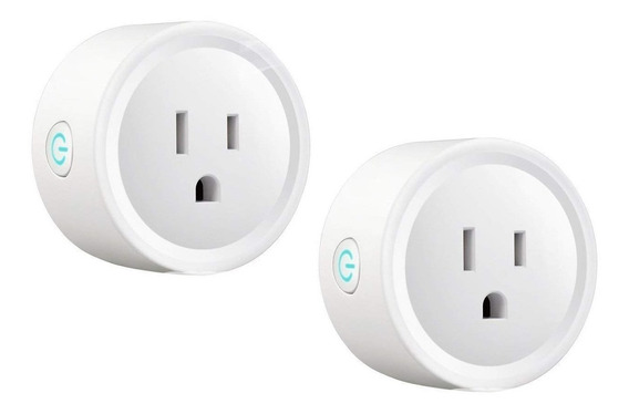 Enchufe Inteligente Wifi Smart Plug Home Socket 2 Piezas