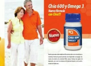 Chia 600 Y Omega 3