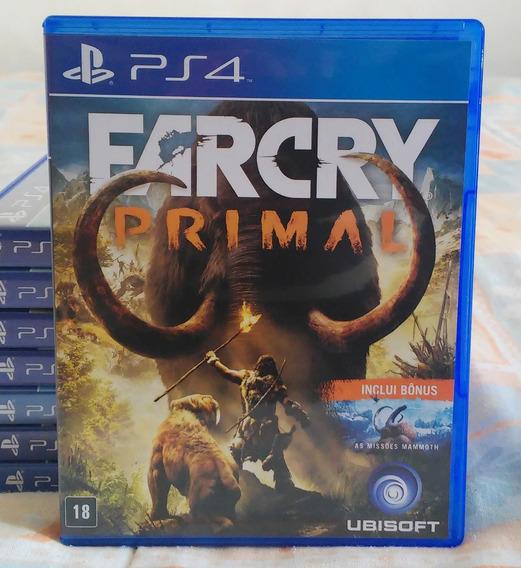Far Cry Primal Ps4 - Jogo Mídia Física Em Português