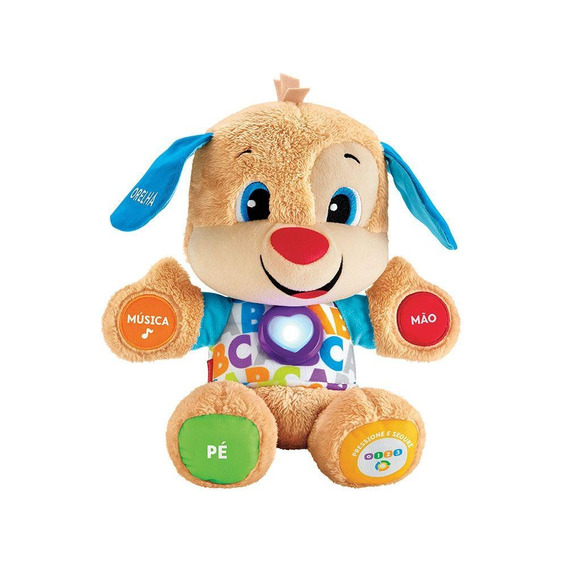 Fisher Price Aprender E Brincar Cachorrinho Fvc80 Mattel