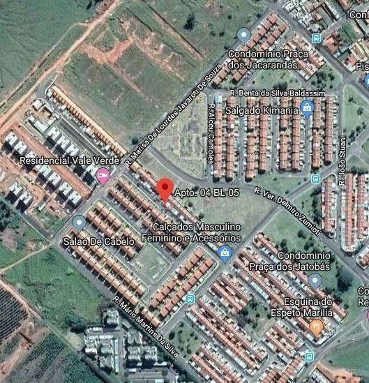 Apartamento Com 2 Dormitórios À Venda, 42 M² Por R$ 57.082,61 - Vereador Eduardo Andrade Reis - Marília/sp - Ap5216