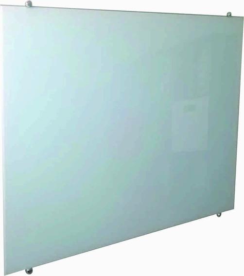 Lousa De Vidro Magnética 60x40cm Branca Com 2 Imãs