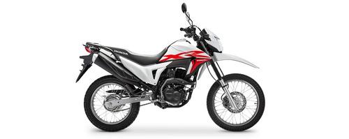 Honda Xr 190l Nueva 2020 0km Moto Sur Blanca Roja Negra