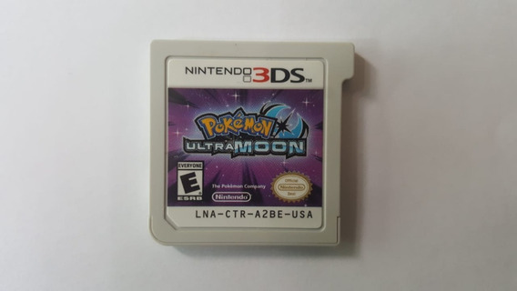 Pokémon Ultra Moon - Nintendo 3ds - Original - Sem Capa