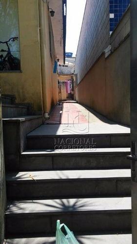 Terreno À Venda, 225 M² Por R$ 550.000,00 - Jardim Santo Antônio - Santo André/sp - Te0695