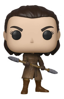 Funko Pop Game Of Thrones Arya With Two Headed Spear