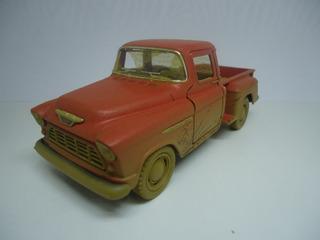 Miniatura Caminhonete Chevy 1955 Pintura Suja De Barro