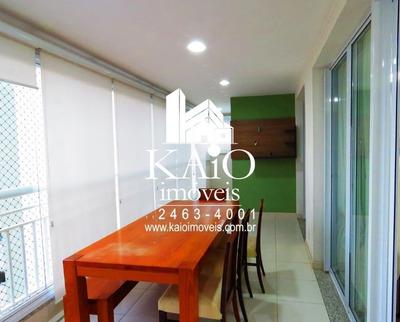 Apartamento No Condomínio Via Jardins Do Bosque, Centro Guarulhos, 3 Suítes, 2 Vagas Fixas. - Ap1022
