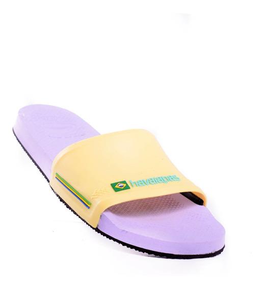 Ojotas Havaianas Slide Brasil-4142616-994- Open Sports