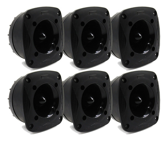 Kit 6 Super Tweeter Tsr Orion 720w Rms 8 Ohms Profissional