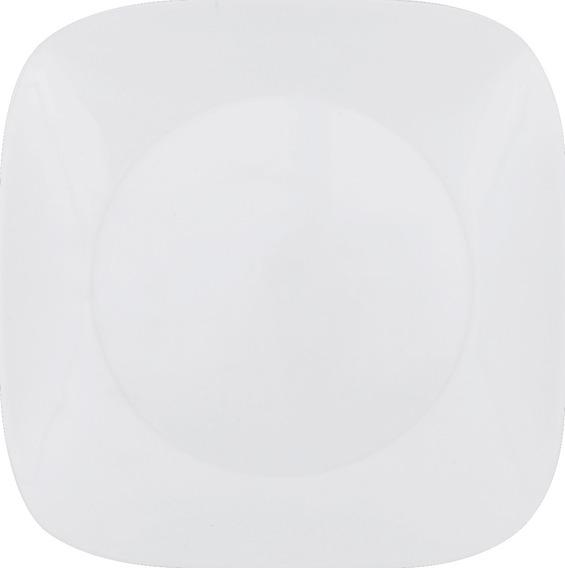 Plato Cena 26cm Pure White Square Corelle - 1069961
