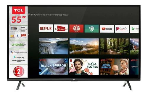 """Imagen 1 de 4 de Smart TV TCL Serie A4 55A435 LED 4K 55"""" 110V"""