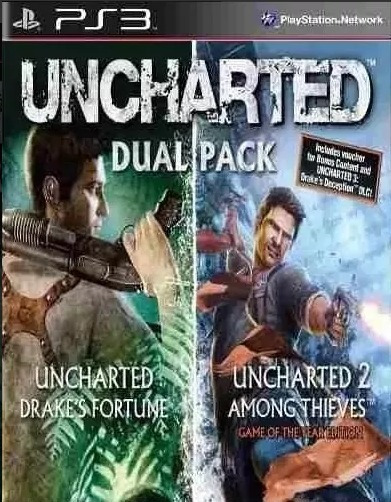 Uncharted Greatest Hits Dual Pack Ps3 Digital