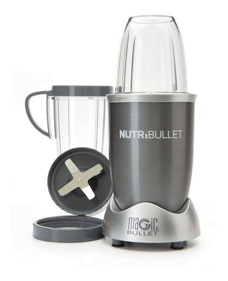 Nutribullet Magic Bullet 600 W Con 8 Accesorios Gris Plata 100391