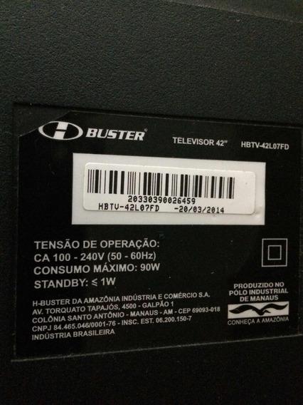 Televisão Hbuster 42 (tela Quebrada)