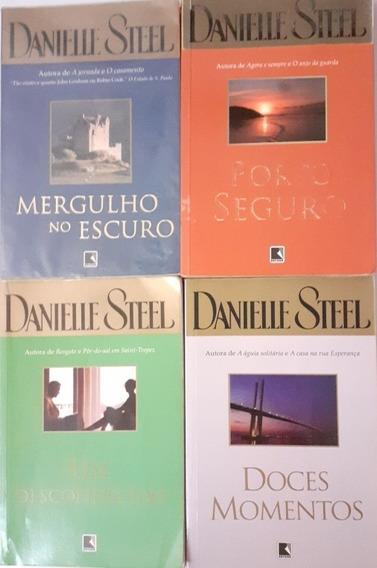 Lote 4 Livros Danielle Steel