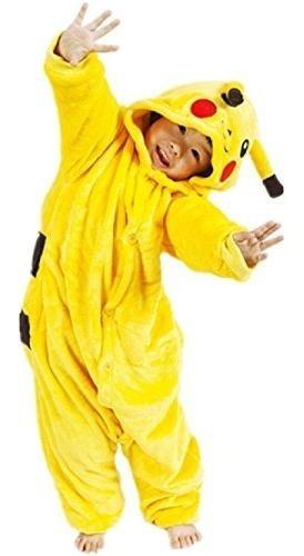 Pijama Pikachu Para Niños Y Adulto