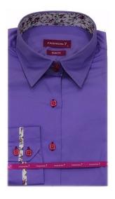 Camisete Camisa Feminina De Algodão Acetinado