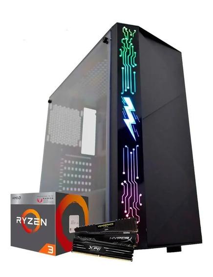Pc Cpu Gamer Ryzen 3 3200g Ssd 120gb 8gb Ddr4 Vega 8