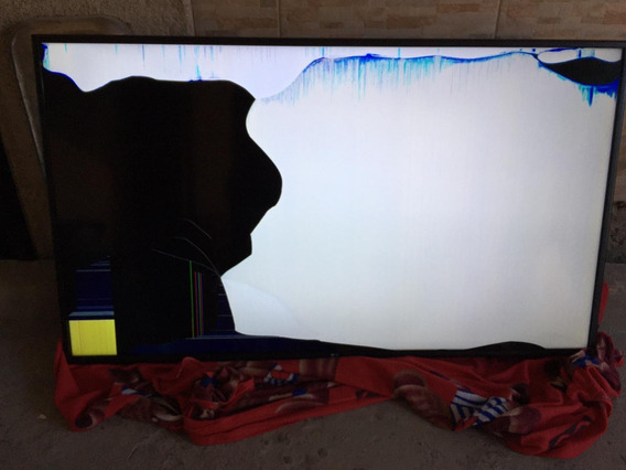 Tv LG 60 Pol Modelo 60um 7072 Com Tela Trincada
