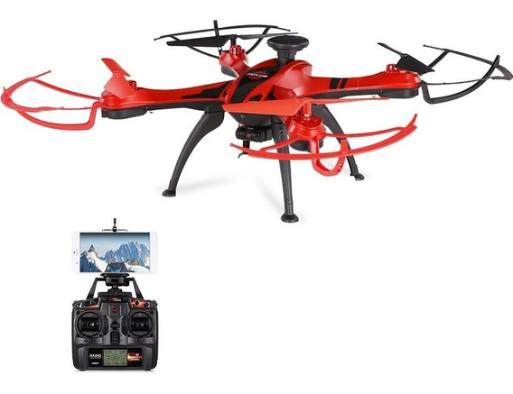 Drone Gps Câmera 2mp 300m Retorno Controle Altitude Feiliun
