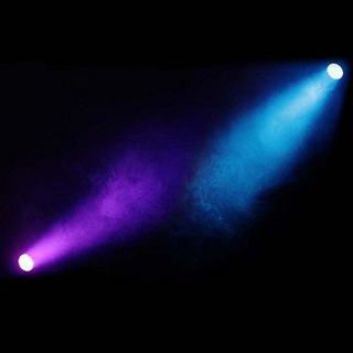Dragonx 177 Led Slim Par Dj Lights- Rgb Amber Can 64 Led Sta