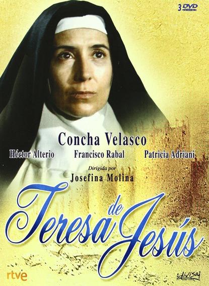 Teresa De Jesus - Concha Velasco - Dvd - Autorado - Novo