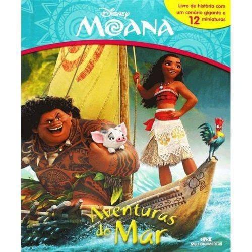 Livro Miniatura - Moana - Aventuras No Mar