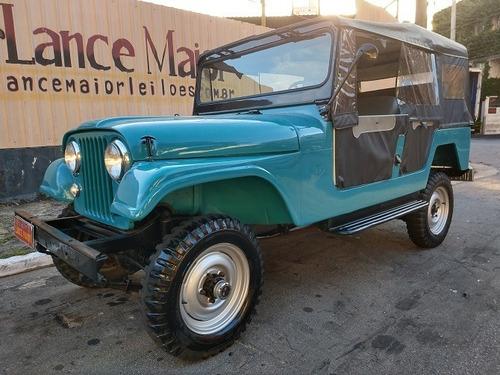 Imagem 1 de 13 de Ford Jeep Bernardão