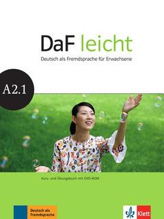 Daf Leicht A2.1 - Kursbuch + Ubungsbuch + Dvd-rom