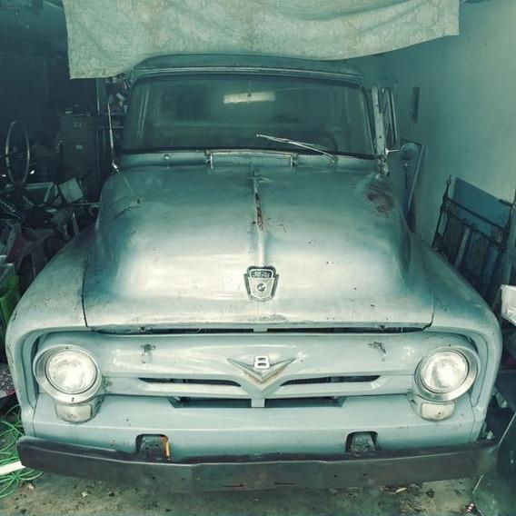Ford F100 Ano 1954, Completa Com Ducumento Em Dia.