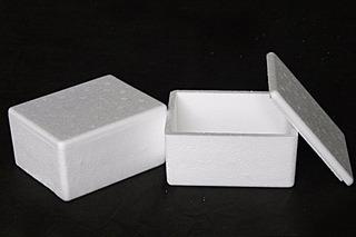 50 Caixas Térmicas De Isopor - 0,750ml