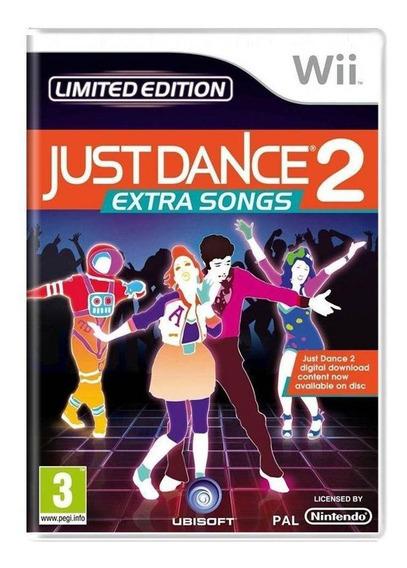 Just Dance 2 Extra Songs Wii Europeu Mídia Física