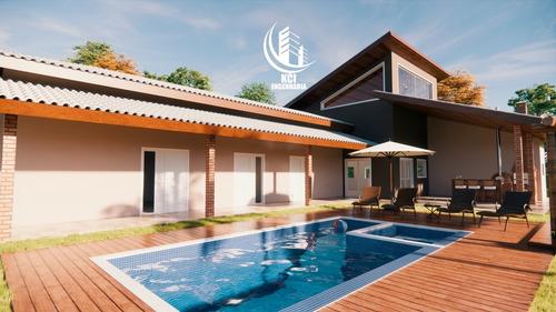 Imagem 1 de 7 de Chácara Em Condominio Ibiuna - Condominio Em Ibiuna-cód.255