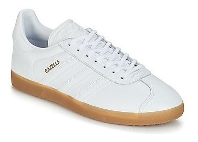Tenis adidas Gazelle Branco - Original Bd7479