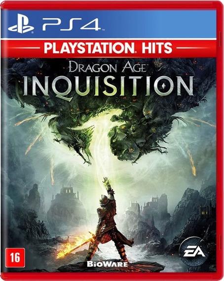 Dragon Age Inquisition Midia Fisica Novo Ps4 Pronta Entrega