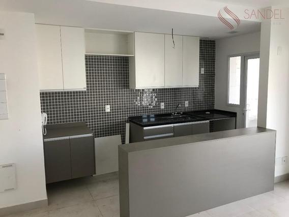 Lindo Apto Para Aluguel No Air Campo Belo Com 49m², 1 Dorm, 1 Banheiro E 1 Vaga De Garagem (l) - Ap0951