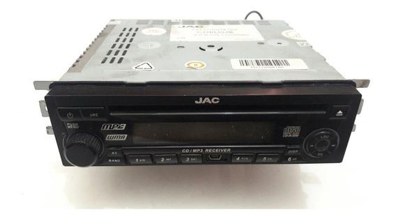 Radio Original Jac Motors J3 Usado Se Precidar Cod Por Conta