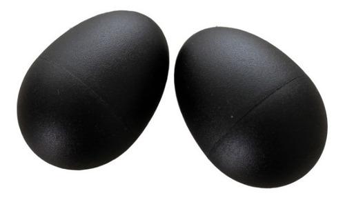 Ganzá Chocalho Ovinho Percussão Profissional Egg Par Spring