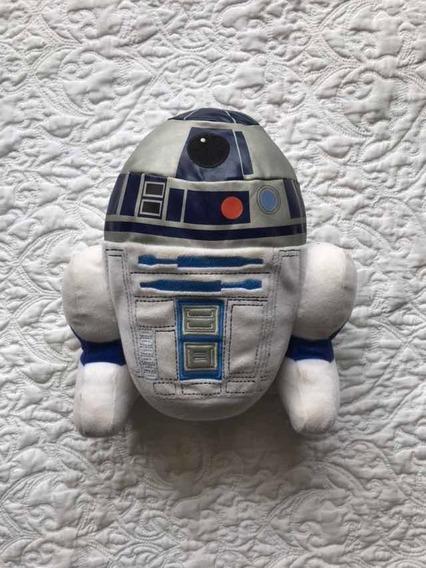 Robô Pelúcia Star Wars R2-d2 Disney