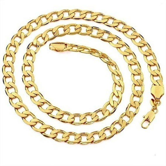 Moda De Luxo Homens Mulheres Requintado Colar Banhado Ouro