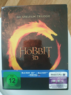 The Hobbit Trilogy Blu Ray 3d