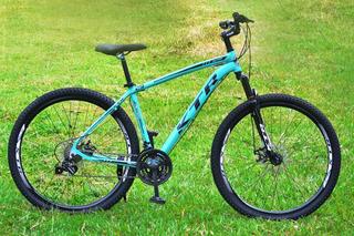 Bicicleta Aro 29 Mtb Ktr Action Aluminio 24v Disco Cambio Sh