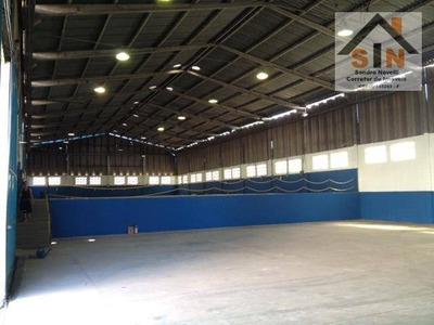 Galpão Industrial Para Venda E Locação, Vila Virgínia, Itaquaquecetuba. - Ga0002