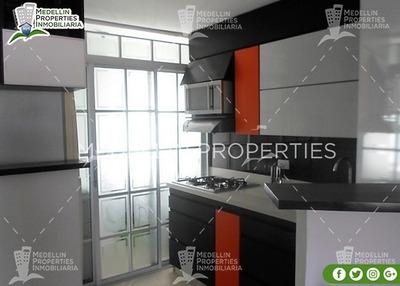 Arrendamientos De Apartamentos En Medellín Cód: 4635