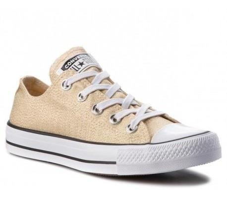 zapatillas converse mujer doradas