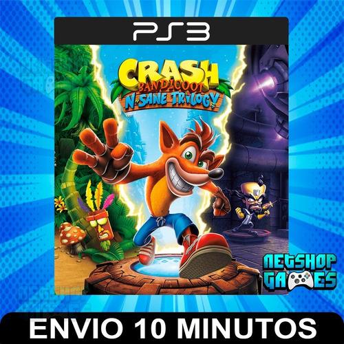 Crash Bandicoot Trilogy - Ps3 Digital - 1 2 3 - Español