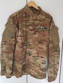 Camisa Multicam Original U.s Army Resiste A Chama/repelente